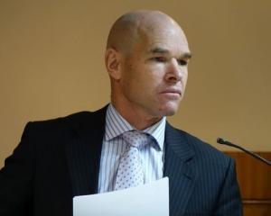 Detective Greg Murton. Photo: RNZ / Conan Young