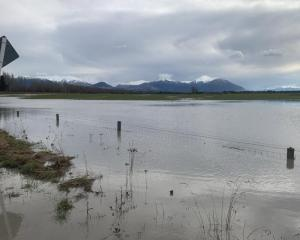 The view from Thompsons Track, near Ashburton, towards Mount Hutt at the weekend. Photo: Supplied