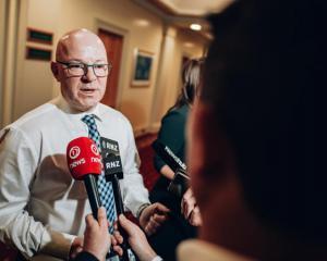 Matt Doocey. Photo: RNZ / Dom Thomas