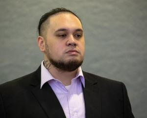 Eli Epiha on trial at the Auckland High Court. Photo: RNZ