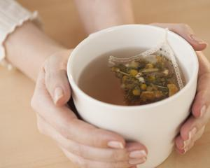Promote relaxation with a herbal tea before going to bed.