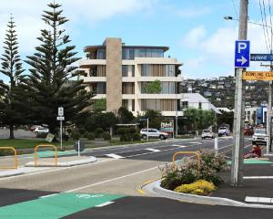 Am artist's impression of the proposed development, viewed from the intersection of Marriner and...