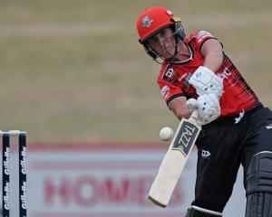Kate Ebrahim bats for Canterbury. Photo: Getty Images