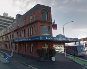 The  Leviathan Hotel. Photo: ODT files
