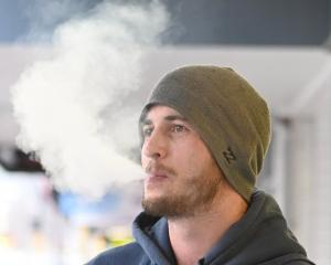 Lyall Rarity, of Christchurch, tried other methods in an effort to quit smoking but found vaping...