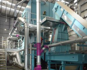 Pan Pac wood processing plant near Milburn in South Otago has been operating with a biomass wood...