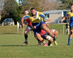 Burly prop Meli Kolinisau has been a key player in Valley's forward pack this season. PHOTO: DAVE...