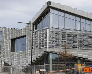 The inverted blades, unique to Te Ara Atea, add 'drama' to the new building. Photo: Susan Sandys