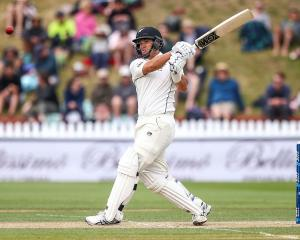 Ross Taylor batting earlier in the year. Photo: Getty Images
