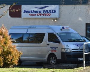 Southern City Taxis was forced into liquidation by the High Court yesterday in Dunedin. PHOTO:...