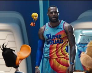 LeBron James stars in ''Space Jam: A New Legacy''. PHOTOS: WARNER, TNZ