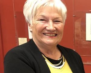 Friends president Sue Lambie