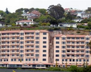 The Frances Hodgkins Retirement Village, overlooking St Clair. Photo by Gerard O'Brien.
