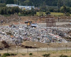 The Green Island landfill. Photo ODT