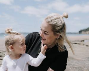 Katie Hawkey is a self-employed midwife and mum to 2-year-old Chloe. Photo: Supplied