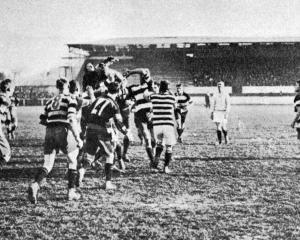 Southern v Zingari-Richmond senior flag match. — Otago Witness, 26.7.1921