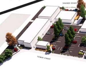 An artist's impression of The Railyard shopping complex. Image: Supplied