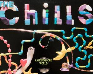 The Chills Kaleidoscope World 1986 LP cover. Designed by Martin Phillipps. Image: Supplied via...
