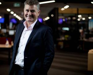 MediaWorks chief executive Cam Wallace. Photo: Dean Purcell