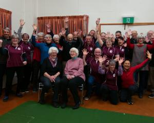 Past and present members of the Bannockburn Indoor Bowls Club celebrated 60 years on Monday night...