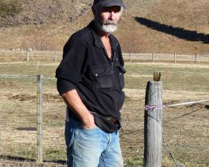 Mount Possession Station owner Donald Whyte.