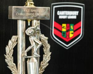The Pat Smith Trophy. Photo: CRL
