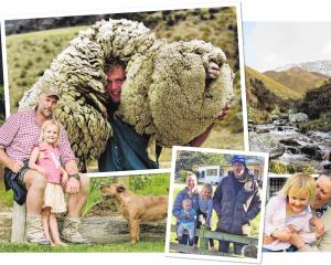 Dan Devine and Jaz Mathisen, pictured with their young daughters Ava and Ida, are focused on...