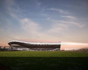 The initial concept plans had 30,000 seats. Image: Supplied