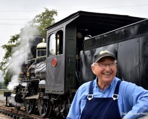 Waimea Plains Railway Trust chairman Colin Smith wants to add to the attractions available there,...