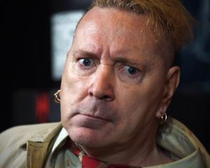 John Lydon, who performed as Johnny Rotten, can be outvoted by other former band members. Photo:...