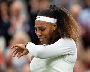 An upset Serena Williams has had an injury-marred season and limped out of her first-round match...