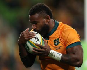 Marika Koroibete is one of three Wallabies ruled out of selection for this weekend's opening...