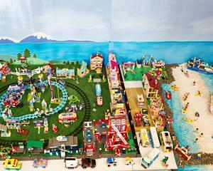 Toni Batey's private lego build. Photos: Supplied