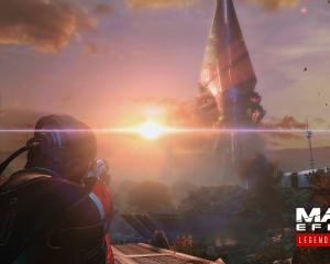 Dramatic sunsets are everywhere in Mass Effect: Legendary Edition.IMAGE: SUPPLIED