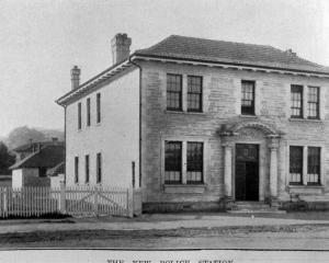 Oamaru's newly-built police station.  — Otago Witness, 16.8.1921
