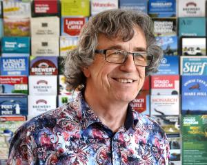 Dunedin motelier Pete Firns has become the new president of the Otago Motel Association. PHOTO:...