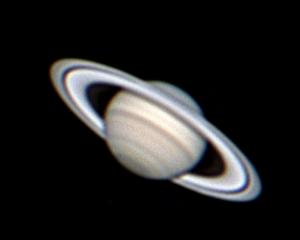 Saturn is seen clearly in this photo taken from Portobello last weekend. PHOTO: IAN GRIFFIN