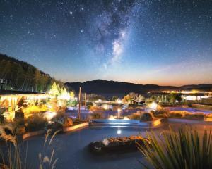 Tekapo Springs at night. PHOTO: SUPPLIED