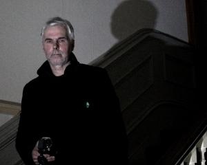 Dunedin artist Bruce Mahalski investigates paranormal activity with the help of an infrared...