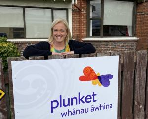 Whanau Awhina Plunket clinical leader for Dunedin and Central Otago Sarah Cameron welcomes the...