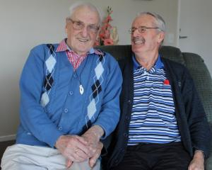 Gay couple Eric Dyer (79) and Jim Williams (95) have shared 53 years together.PHOTO: SIMON...