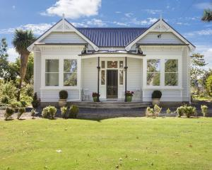The Taieri villa is hardly recognisable after its renovations. PHOTOS: GEORGIE DANIELL PHOTOGRAPHY
