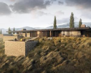 This low-slung clubhouse is part of the newly-approved Hogans Gully golf course resort. Photo:...