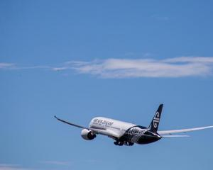 An Otago University student flew from Auckland to Dunedin.