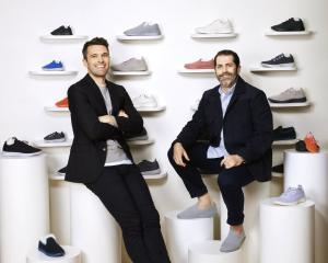 AllBirds co-founders Tim Brown (left) and Joey Zwillinger. Photo: Cody Pickens