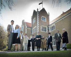 Whodunit? The cast of And Then There Were None.