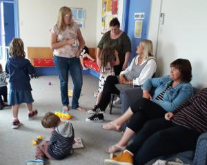 Plunket mums and bubs get together regularly for connection and support at morning tea sessions...