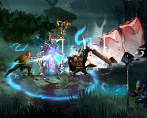 At the moment, Blightbound struggles to offer more than its distinct visual look. IMAGE: SUPPLIED