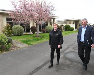 Celebrating Chatsford Retirement Village's 30th birthday are marketing and sales manager Dawn...