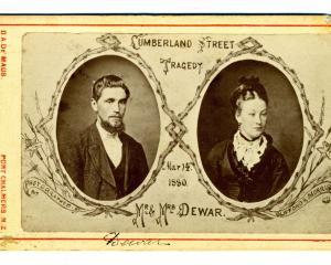 When James and Elizabeth Dewar were murdered in 1860,   Detective Robert Bain was sent to...